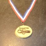 Oleksak Lumber Half Marathon Medal