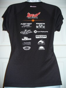 HEAT 2013 Women's Tee - back