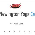 Newington Yoga Center Class Card - discounted for HEAT members
