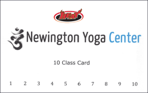 Newington Yoga Center Class Card - discounted for HEAT members