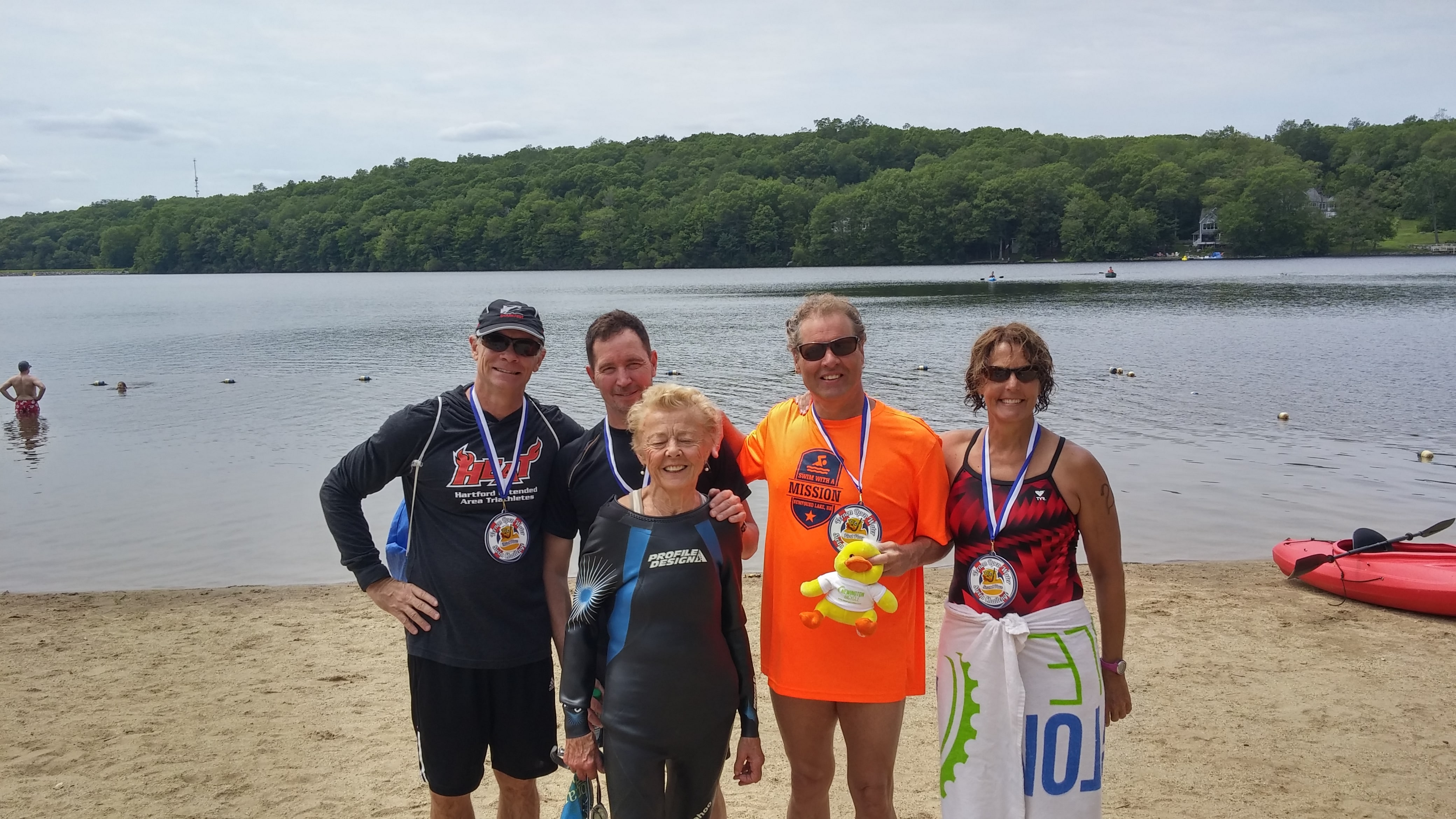 Bolton Lake Swim 2017